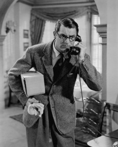 Cary Grant with glasses